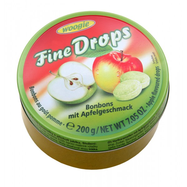 """Fine Drops"" καραμέλες με γεύση μήλο 200g"