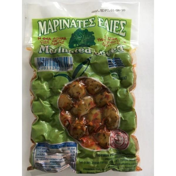 Ελιές Μαρινάτες 250g