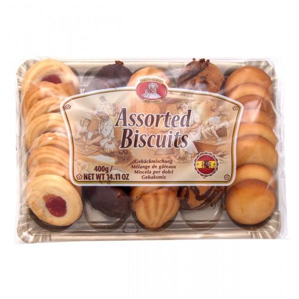 Ποικιλία  από μπισκότα 400g