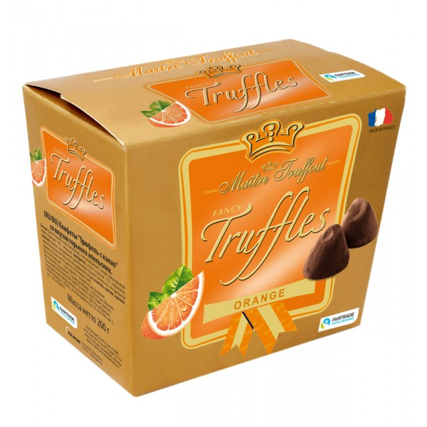 Tρούφες πορτοκαλί 200g