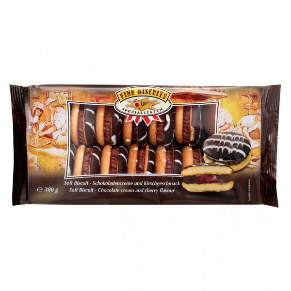 Jaffa Sandwich σοκολάτας με κρέμα-κεράσι 380g