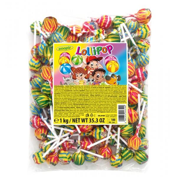 Γλειφιτζούρια Lollipops 1kg (100x10g)