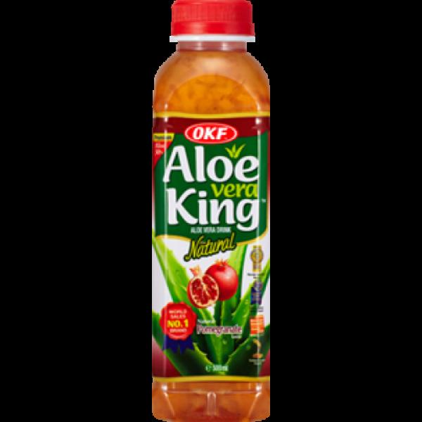 OKF Aloe Vera King Ρόδι 500ml