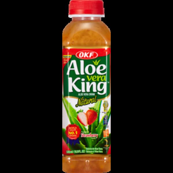 OKF Aloe Vera King Φράουλα 500ml