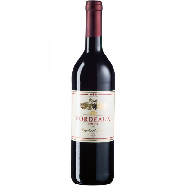 Bordeaux Rouge A.O.C. Raphael Louie 13,5% Vol  0,75L
