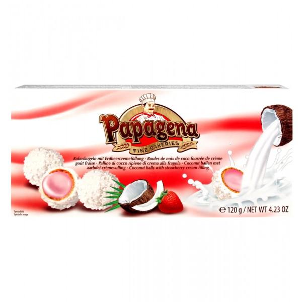 Wafer balls με φράουλα 120g